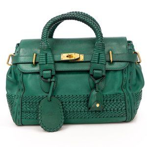 GUCCI  Handmade Bag Emerald